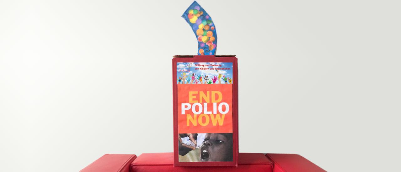 Stiftung Ecovis & friends unterstützt Kampagne gegen Polio