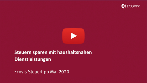 Ecovis-Steuertipp Mai